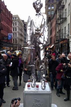 The ANDY Monument: Union Square, NY
