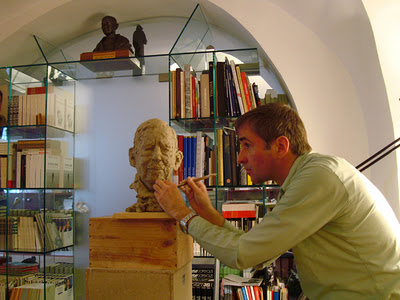 KAI TEICHERT::BUST OF HAVEL::