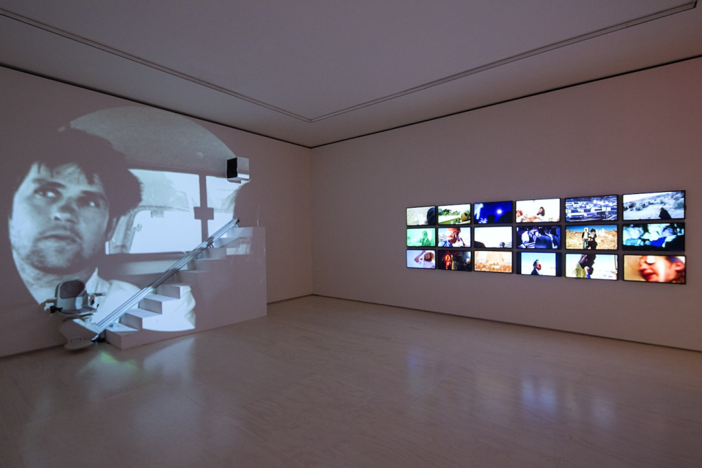 Christoph Schlingensief, Installation view, MoMA PS1, NY, Photograph by Matthew Septimus, 2014