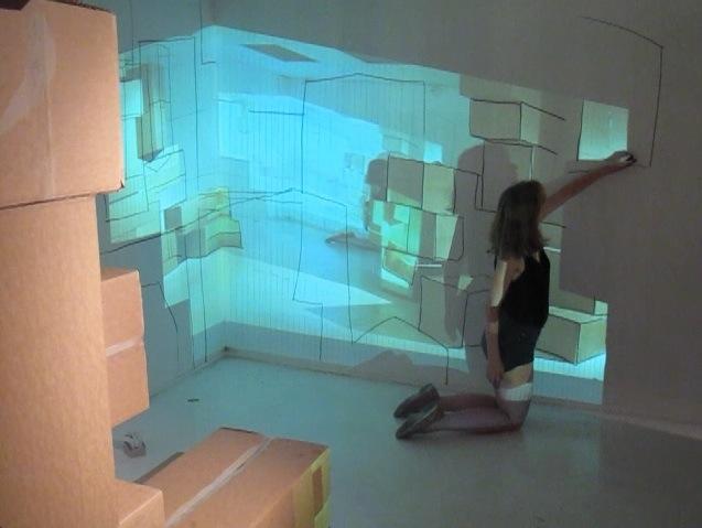 Jennie Hagevik Bringaker, installation view at Projesjekktrom Carl Berner, 2014.  Courtesy of the artist.