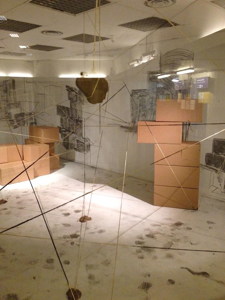 Jennie Hagevik Bringaker, installation view at Projesjekktrom Carl Berner, 2014