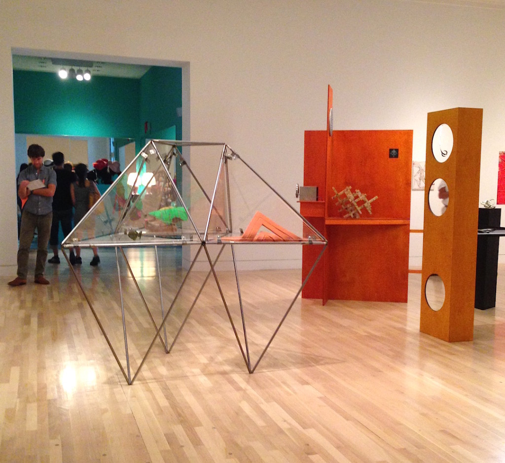 Made in LA, Installation view at the Hammer Museum, LA, Photograph by Katy Hamer, 2014